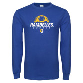 Royal Long Sleeve T Shirt-Rambelles Soccer