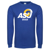 Royal Long Sleeve T Shirt-ASU Dad