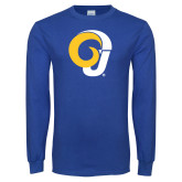 Royal Long Sleeve T Shirt-Ram Logo