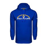 Under Armour Royal Performance Sweats Team Hoodie-Arched Football Design