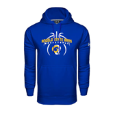 Under Armour Royal Performance Sweats Team Hood-Basketball in Ball