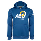 Under Armour Royal Performance Sweats Team Hoodie-ASU Soccer