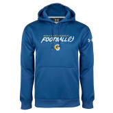 Under Armour Royal Performance Sweats Team Hoodie-Rams Football