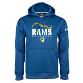 Under Armour Royal Performance Sweats Team Hoodie-Rams Baseball