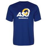 Performance Royal Tee-ASU Baseball