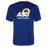 Performance Royal Tee-ASU Volleyball