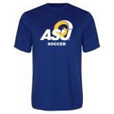 Performance Royal Tee-ASU Soccer