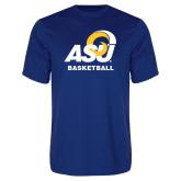 Performance Royal Tee-ASU Basketball