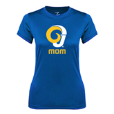 Ladies Syntrel Performance Royal Tee-Mom