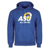 Royal Fleece Hoodie-ASU Alumni