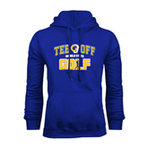 Royal Fleece Hoodie-Tee Off Golf Design