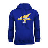 Royal Fleece Hoodie-Track and Field Design