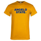 Gold T Shirt-Angelo State
