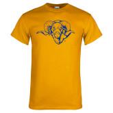 Gold T Shirt-Ram Head