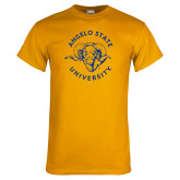 Gold T Shirt-Angelo State Ram