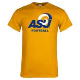 Gold T Shirt-ASU Football