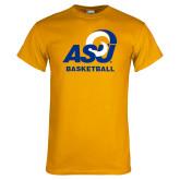 Gold T Shirt-ASU Basketball