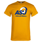 Gold T Shirt-ASU Volleyball