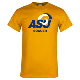 Gold T Shirt-ASU Soccer