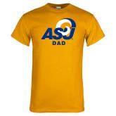 Gold T Shirt-ASU Dad