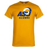 Gold T Shirt-ASU Alumni
