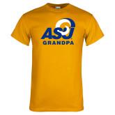 Gold T Shirt-ASU Grandpa