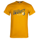 Gold T Shirt-Class of Design, Personalized year