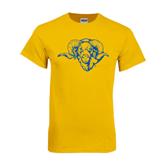 Gold T Shirt-Roscoe Ram
