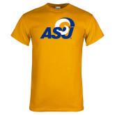 Gold T Shirt-ASU Logo