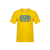 Youth Gold T Shirt-Angelo State