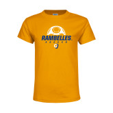 Youth Gold T Shirt-Rambelles Soccer