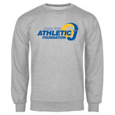 Grey Fleece Crew-Athletic Foundation