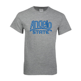 Grey T Shirt-Angelo State