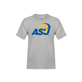 Youth Grey T-Shirt-ASU
