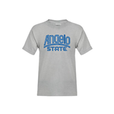 Youth Grey T-Shirt-Angelo State