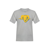 Youth Grey T-Shirt-Roscoe Ram