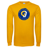 Gold Long Sleeve T Shirt-Angelo State University Ram