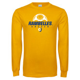 Gold Long Sleeve T Shirt-Rambelles Soccer