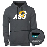 Contemporary Sofspun Charcoal Heather Hoodie-ASU