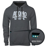 Contemporary Sofspun Charcoal Heather Hoodie-Angelo State