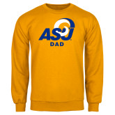 Gold Fleece Crew-ASU Dad