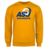 Gold Fleece Crew-ASU Grandpa