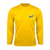 Syntrel Performance Gold Longsleeve Shirt-ASU