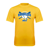 Syntrel Performance Gold Tee-Softball Bats and Plate Design