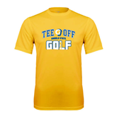 Syntrel Performance Gold Tee-Tee Off Golf Design