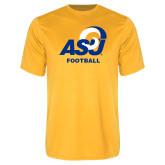 Performance Gold Tee-ASU Football