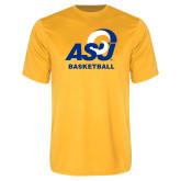 Performance Gold Tee-ASU Basketball
