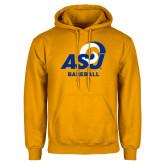 Gold Fleece Hoodie-ASU Baseball