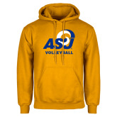 Gold Fleece Hoodie-ASU Volleyball