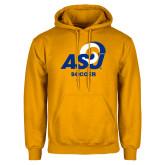 Gold Fleece Hoodie-ASU Soccer